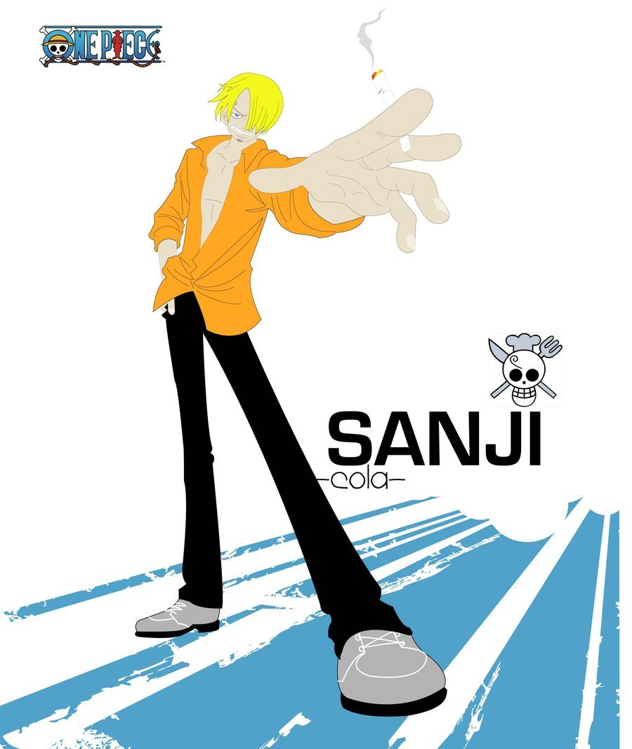 Sanji One Piece…I traced using Adobe Illustrator…hahaa~~ Sanji Illustr by ~colaseven