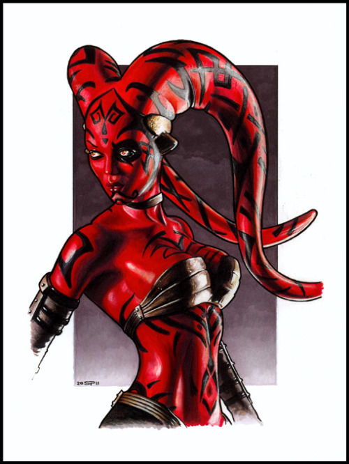 lulubonanza:  DARTH TALON by *S-von-P