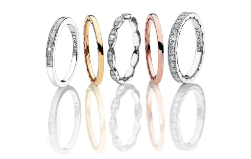 Tacori ladies wedding bands
