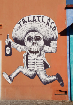 Running Skeleton Oaxaca by Ilhuicamina on Flickr.