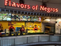 Actually though, it's food that comes from the Negros Occidental region of the Philippines. Really!