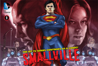 laurenkmyers:  fyeahchlollie:  Smallville: Season 11 #9  As Lois and Superman escape a near collision with one of Sam Lane's military helicopters, Ollie and Chloe get closer to discovering just what landed in the cornfield. Lex is coming closer to discovering what Tess did to him, and Commander Henshaw, well, he gets up close and personal with Lex. You can purchase the latest comic chapter here.   Buy it! This week issue is completely made of win.