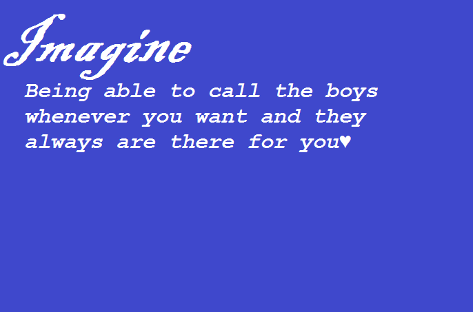my first imagine! What do you think? i know its not original but i have to try something right? xx
