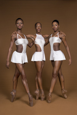 so-treu:  deafmuslimpunx:  theballetblog:  Dance Theatre of Harlem  Love the flesh-colored ballet shoes they're all wearing.  they dye them. i had to do the same back when i was in an all-Black ballet company as a youth. it's part of the inherent white supremacy of ballet that you still can't buy pointe shoes in anything other than pink, for the most part.