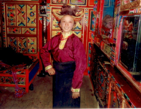 This is Jigme Dolma. A 17-year-old Tibetan girl who was beaten and detained by security forces for calling for freedom for her country. Free Tibet!