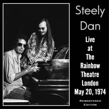doomandgloomfromthetomb:  Steely Dan - May 20, 1974, Rainbow Theatre, London, UK Via BB Chron.  Personnel: Donald Fagen (keyboards, vocal) • Walter Becker (bass) • Denny Dias (guitar) Jeff 'Skunk' Baxter (guitar) • Royce Jones (percussion, vocal) • Michael McDonald (keyboards, vocal) • Jeff Porcaro (drums) • Jim Hodder (drums)  Fagan-zone