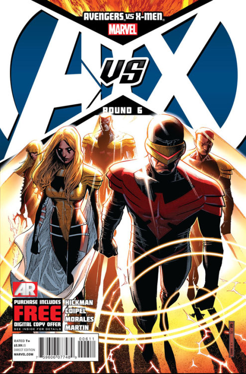 Avengers VS X-Men #6 Cover