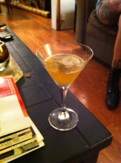 Chapel hill (bourbon sidecar)