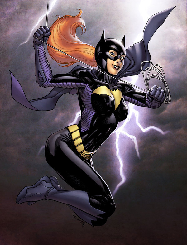 Batgirl by *spidermanfan2099