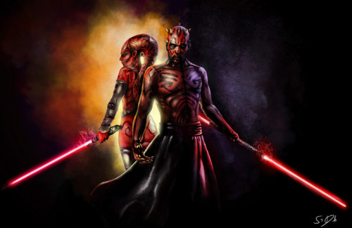 beyond-starwars:  Talon and Maul Created by Sam Denmark (via: tiefighters)
