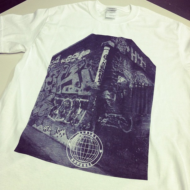 merchasylum:  Census Apparel #screenprinting #printing #merchasylum #cardiff (Taken with Instagram)