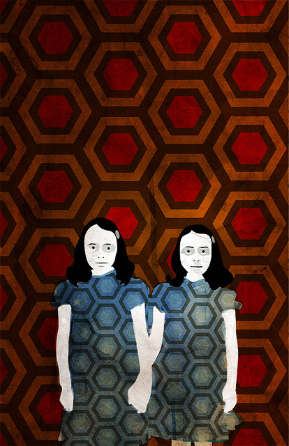 Come and play with us, Danny. The Shining illustrated by Alvaro Tapia Hidalgo :: via alvarotapia