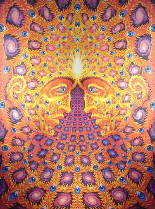 "lesmotsentrenous:  ""ONE"" - Alex Grey"