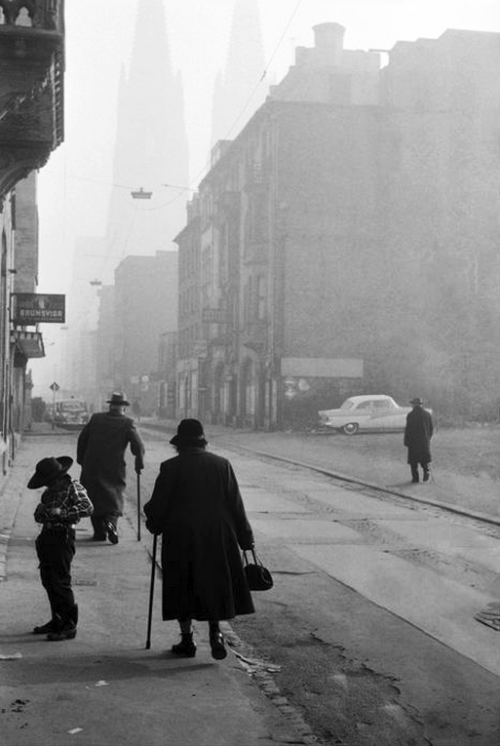 cologne after world war ii, west germany, 1965 photo by leonard freed/ magnum photos