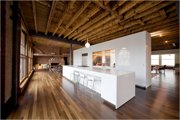 A true New Yorker pad, loft Style. Via New York Times.