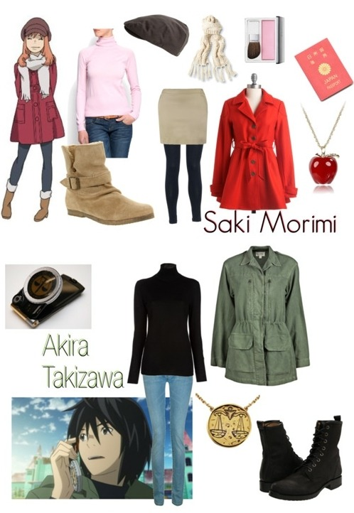 Eden of the East Saki & Akira Costplay