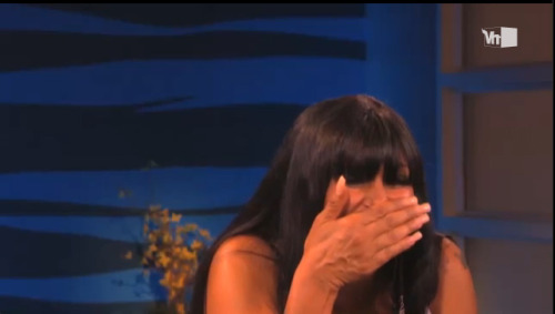 Big Ang's reaction to People With Big Ang Lips on Big Morning Buzz today.  Watch it!