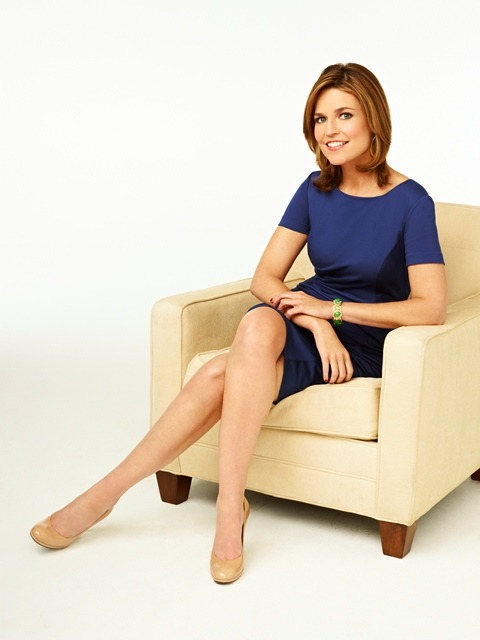 today:  Savannah Guthrie named co-anchor of TODAY  it's amazing what a good lipstick can do for you. (cc hobroken)