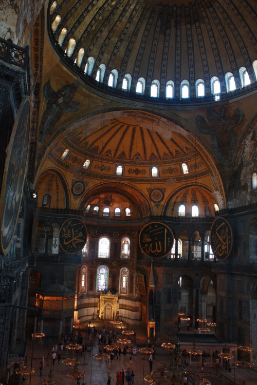 Hagia Sophia in Istanbul, Turkey submitted by: kxyxn, thanks!