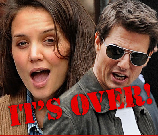 Tom Cruise and Katie Holmes are getting DIVORCED … after 5 years of marriage.