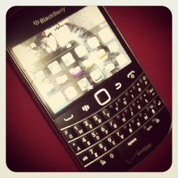Finally home, using my #blackberry#9930#verizon again! Feel so good!! #keyboard  (Taken with Instagram)