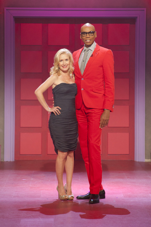 Gather around the water cooler with Angela Kinsey from The Office on RuPaul's Drag U this Monday at 9/8c on Logo!
