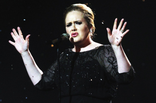 Holy moly, Adele is pregnant. Omg, her post-pregnancy album is going to be fantastic. Also, TomKat are divorcing but I really could care less about that news. - J