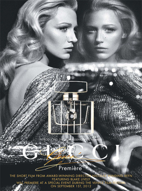Blake Lively for Gucci Première Fragrance Ad Campaign by Mert & Marcus