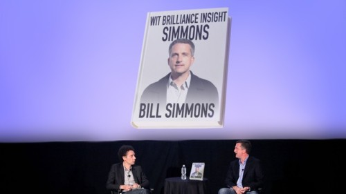 "Bill Simmons Releases 2,000-Page Book Exploring How Fucking Clever He Is  ""I'm extremely proud of this book, which I think I'd really have to call my life's work—or, at least, the work of my life thus far,"" Simmons said at a launch party sponsored by publisher McSweeney's and hosted by Malcolm Gladwell, who did not manage to find an opportunity to speak … In his 14-page introduction to Wit, Brilliance, Insight, Simmons, pop culture critic Chuck Klosterman poses the question of whether Simmons is brilliant because of his decision to embrace the entirety of television while writing for people who like to watch sports on television or, indeed, in spite of it."