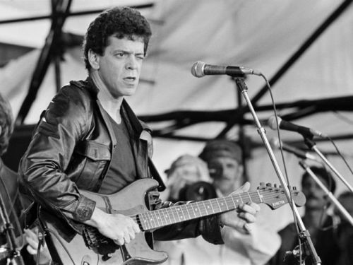 Lou Reed in 1973, by Jean-Louis Atlan.