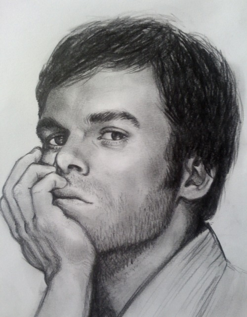 anneroemer:  Memory Lane//Dexter  Small sketch from 2010  Amazing!