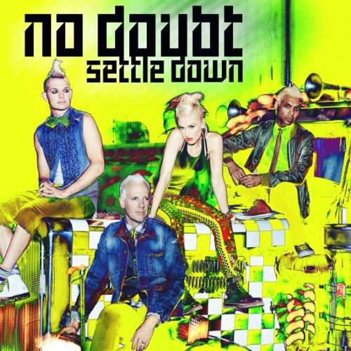 "The cover art for No Doubt's upcoming single, ""Settle Down""."
