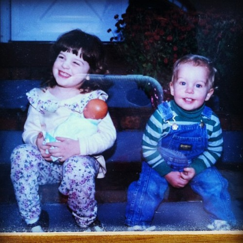 Yeah…we were cute kids! :-) (Taken with Instagram)