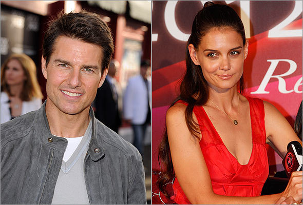 Tom Cruise and Katie Holmes are divorcing after five years of marriage, according to People. Although there has been no official word explicitly stating the split from either camp, Holmes's attorney did address the matter in a statement to the publication. (Kevin Winter/Getty Images; AP Photo/Wally Santana)