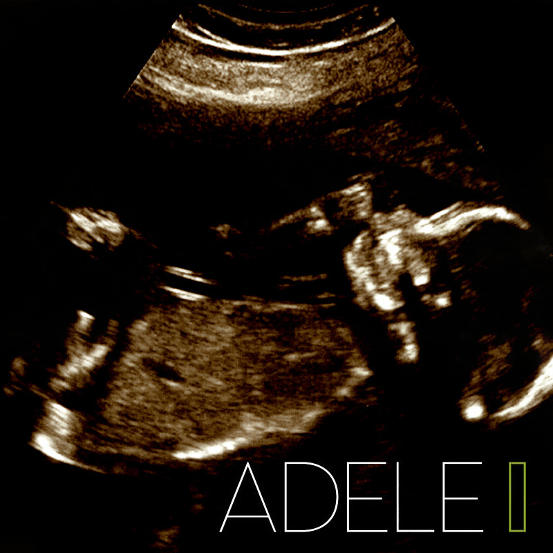 poponandon:  Adele announces pregnancy, releases next album cover art!
