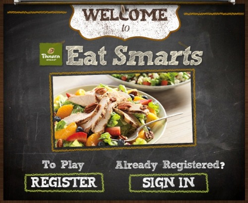 "Panera Bread has stepped into the social gaming space by launching a microsite to engage consumers and offer healthy eating tips. The Panera ""Eat Smarts"" microsite has three levels with five games apiece, as well as videos, quizzes, and challenges focused on nutritional information and healthy food choices. Read more."