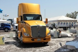 What could be cooler than two brand new Kenworth T680's in the Arizona heat? Two Kenworth T680's in the Arizona heat next to a snow slide, of course! Come on down to Inland Kenworth, we're working hard to keep you cool while you check out this T680 Winter Wonderland.    The clock is ticking, get here before it melts!