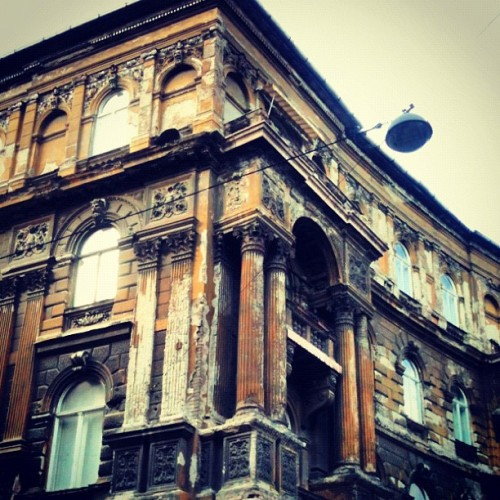 Mansions on the crumble #budapest  (Taken with Instagram)
