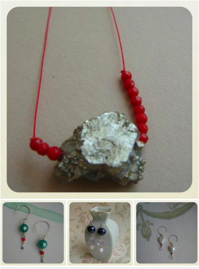 EARRINGS, NECKLACES, BRACELETS! New items have been listed in the Peachy Jean Boutique.  Each piece is one-of-a-kind, so hurry and shop now before they're gone!