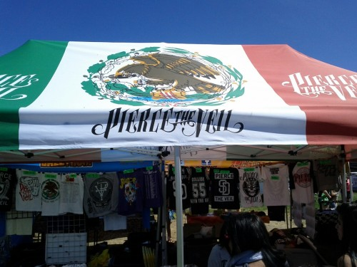 Pierce The Veil Warped Tour Merch.