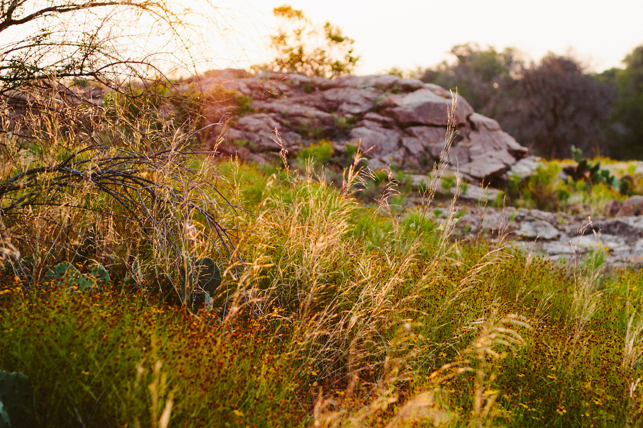 enchanted rock, sunrise