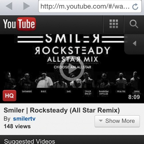 #Rocksteady All-Star Remix Video feat Don Strapzy, Bigz, Sneakbo, SAS, Random Impulse, Fem Fel, Tyler Daley & Shotty Horroh!! (Taken with Instagram)