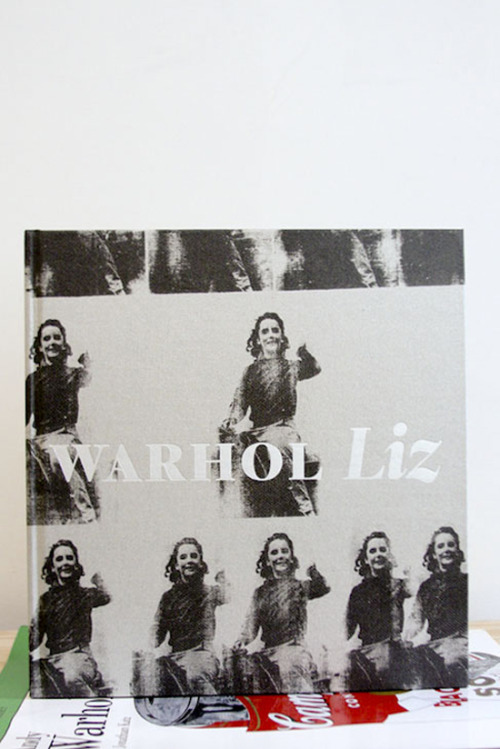 "Andy Warhol, Liz ""The movies make emotions look so strong and real, whereas when things really do happen to you, it's like watching television—you don't feel anything.""  Gagosian Gallery, New York, 2011 11 x 11.75 inches (28 x 30 cm) $200 Purchase"