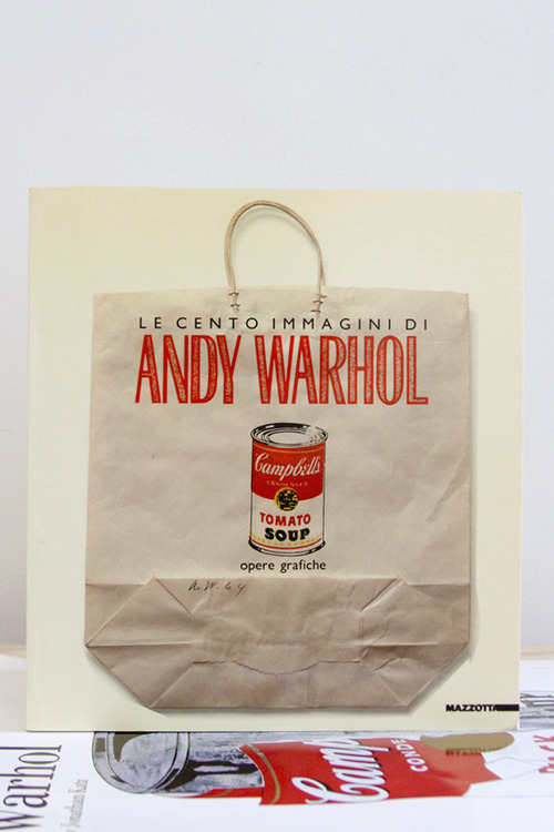 "Andy Warhol, La Cento Immagini di Andy Warhol ""Please do not lick this page"" Fondazione Antonio Mazzotta, Milan, 1989 8.75 x 9 inches (22.25 x 23 cm) SOLD"