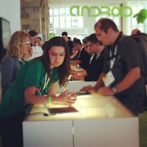 People lining up to get their own #Google #Glass.  I'm in the low 1000's, what number are you? #Rise #io12 #googleio #GoogleGlasses #GoogleGlass (Taken with Instagram at Moscone West)
