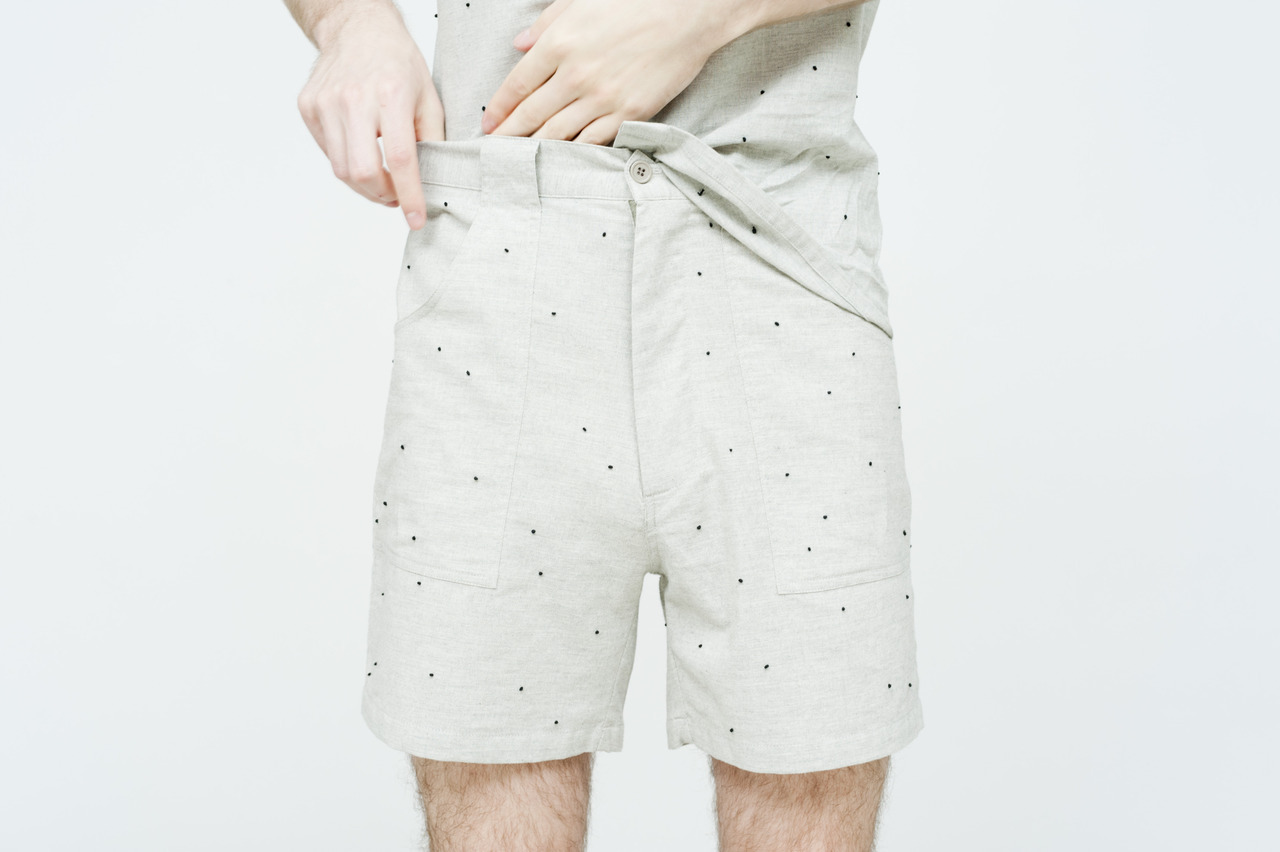 jfandson:  The French Knot Ant Short