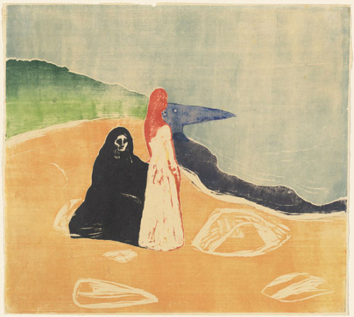 Edvard Munch, Two Women on the Shore / 1898