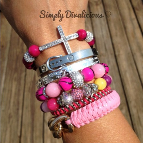simplydivalishs helloberry jewelry girly beauty bangle wristcandy handmade bracelet armcandy armswag gorgeous cross armparty friendship simplydivalicious