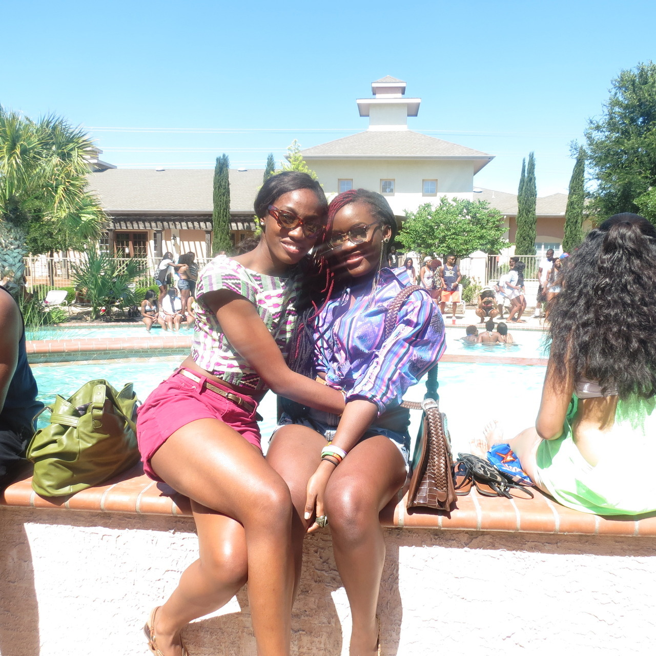 Ladia and I…utsa african students weekend #aPRIL:)