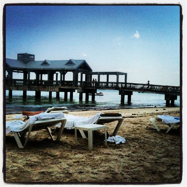 Private Beach Pier - Key West (Taken with Instagram)